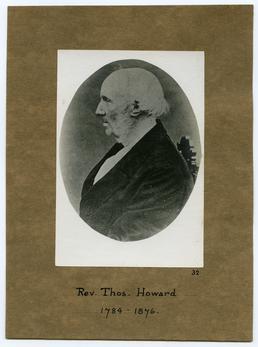 Reverend Thomas Howard (b.1784-d.1876)