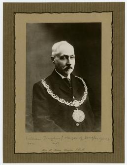 Alderman William Joughin, Mayor of Douglas