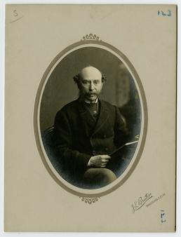 John Moore Jeffcott - framed portrait