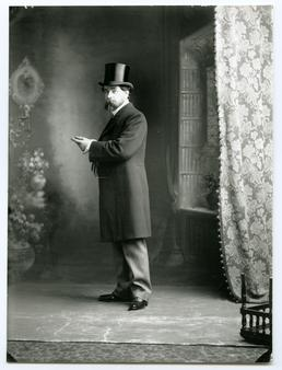 Archibald Knox standing portrait