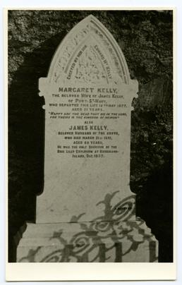 Tombstone of Margaret and James Kelly, Port St…