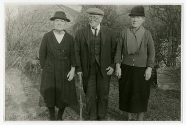 Miss Esther, Mr J.T. and Miss Nellie Kaighen
