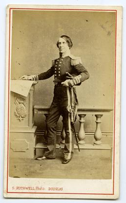 Captain John William Lindsay - formal portrait in…