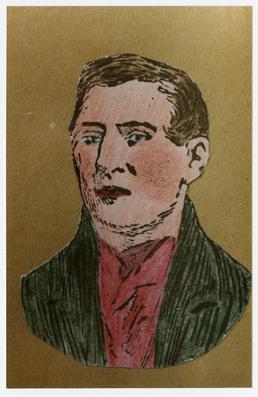 Drawing of William Looney (pugilist)