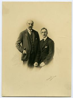 Lord Raglan and his son