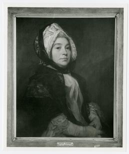 Esther Taubman - photograph of framed painting