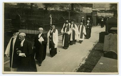 Enthronement of Bishop Stanton-Jones in 1928