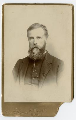Rev. T.A.Taggart - studio portrait