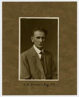Mr C. R. Shimmin - studio portrait