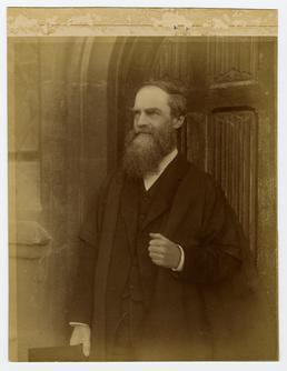 Mr J.M. Wilson (b.6th November 1836) at King…