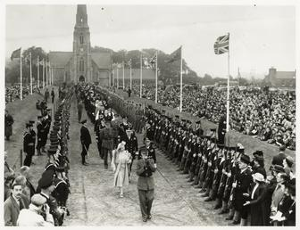 George VI and Elizabeth at Tynwald Ceremony