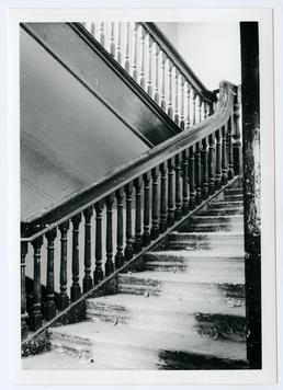 Staircase in Rushen Abbey Hotel, Ballasalla