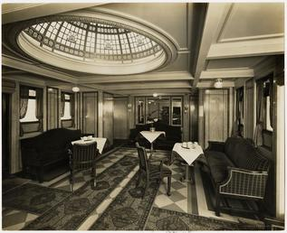 Ben-my-Chree IV 1st class tea room
