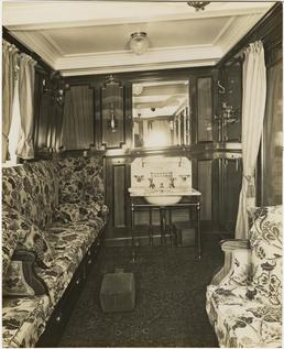Lady of Mann private cabin