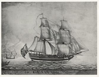 The Caesar, Captain - William Stowell