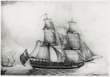 The brig 'Caesar'