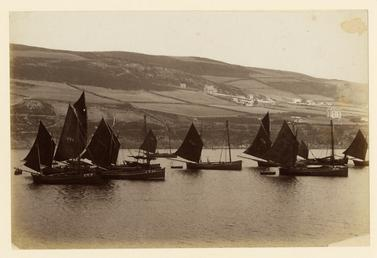 Fishing boats at Port Erin