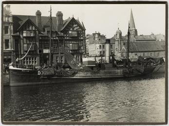 Douglas steam trawler 'Rose Ann'