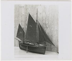 Model of the lugger 'Swift', built 1868 by…