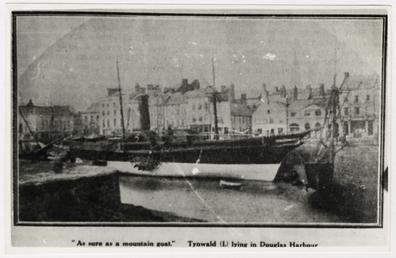 Tynwald I' lying in Douglas Harbour