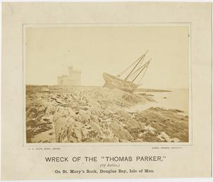 Wreck of the 'Thomas Parker' of Dublin at…