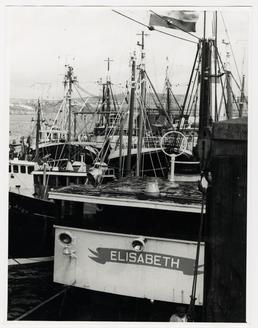 Non-Manx fishing boats in Douglas Harbour