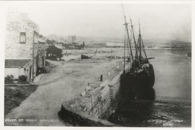 The schooner 'Progress' in Port St Mary
