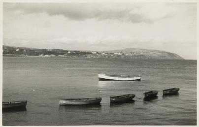 Douglas Bay rowing boats