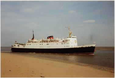 The 'Lady of Mann II' at Fleetwood