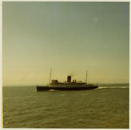 Lady of Mann' in Crosby Channel on passage…