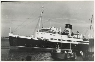 Tynwald V' arriving at Fleetwood
