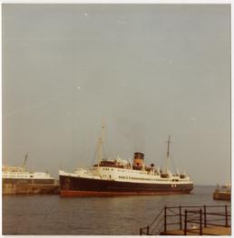 The 'Mona's Isle V' at Douglas