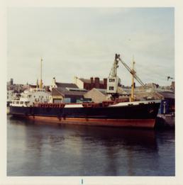 The 'Peveril III' at Douglas