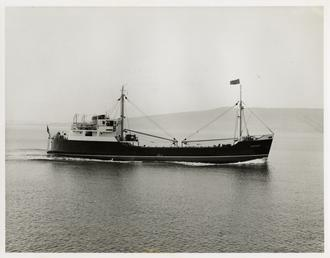 Cargo vessel 'Ramsey, launched November 1964