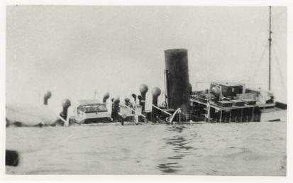 Caesarea sinking at Jersey