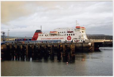 Ben-my-Chree moored Douglas Harbour