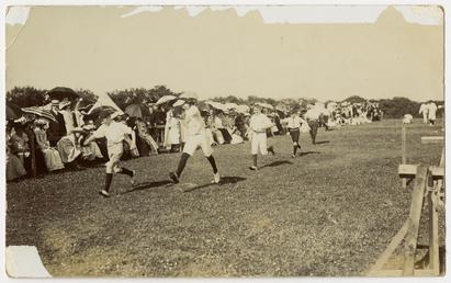 Ramsey Grammar School sports day