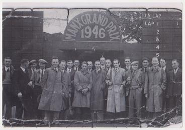 Consett Iron Company, Co. Durham at the 1946…