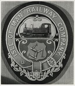 Isle of Man Railway Crest with 3 legs