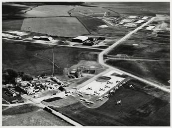 Aerial View of Ronaldsway Airport