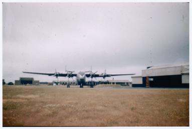 Beverley aircraft at Jurby