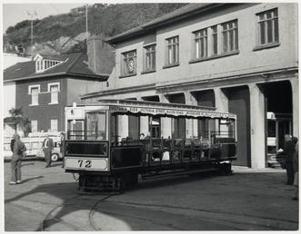 Douglas cable tram car 72