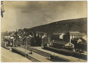 Carriages at Douglas Station