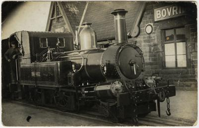 Isle of Man Railway engine No. 14 'Thornhill'…