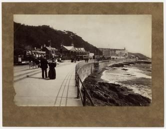 View of Derby Castle station and promenade, with…