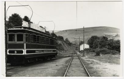 Snaefell Mountain Railway saloon car No. 3