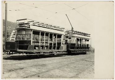 Douglas Southern Electric Railway motor tram, possibly No.…