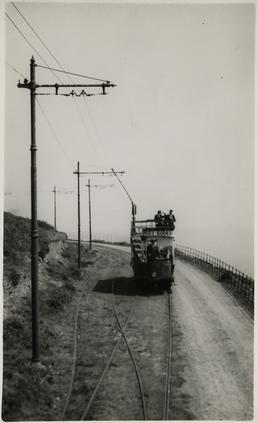Douglas Southern Electric Railway tram No. 1