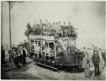 Douglas Southern Electric Railway tram No. 3