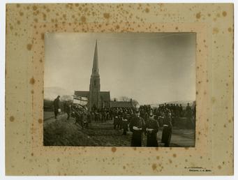 Proclamation of Edward VII at Tynwald